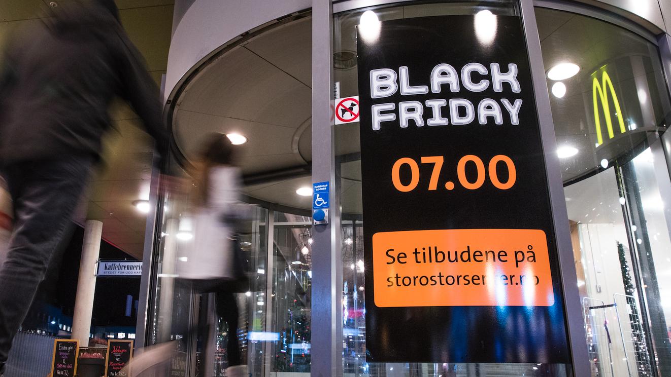 Dropper både Black Week og Black Friday