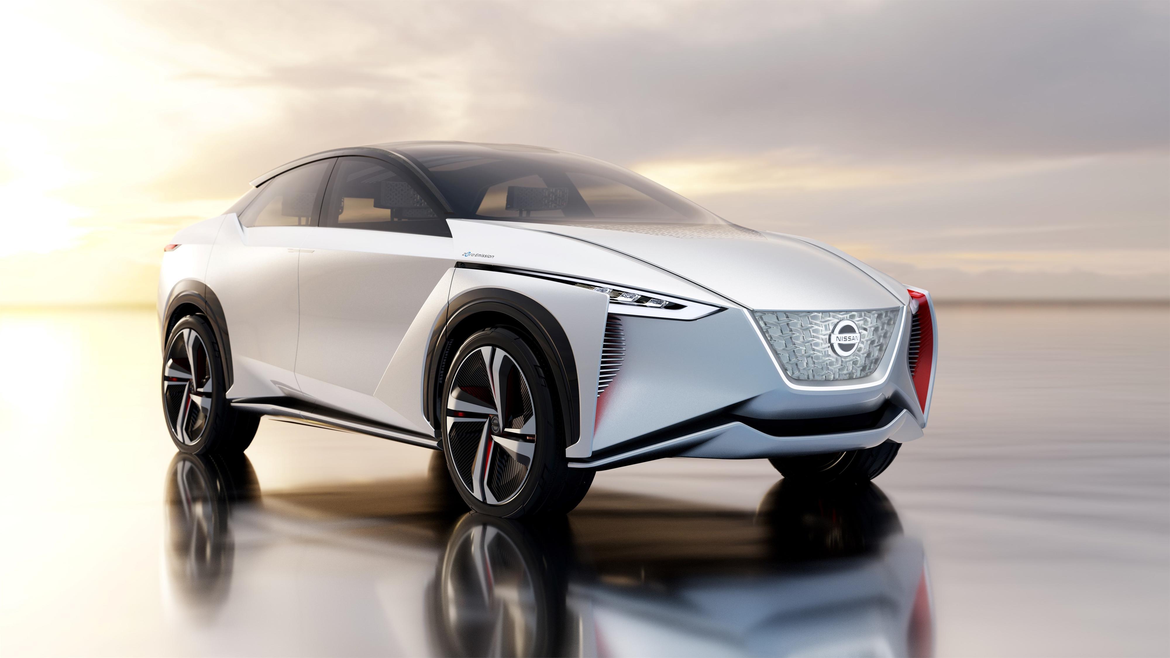 Slik ser Nissans konsepttegninger av IMx ut.