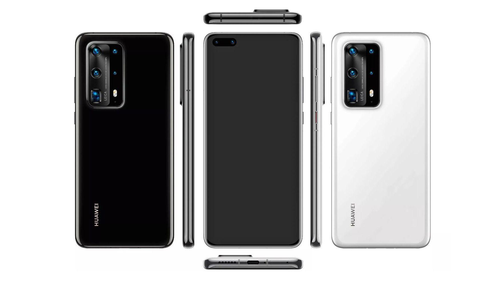 Dette skal være Huawei P40 Pro, ifølge Twitter-kjendisen Evleaks.