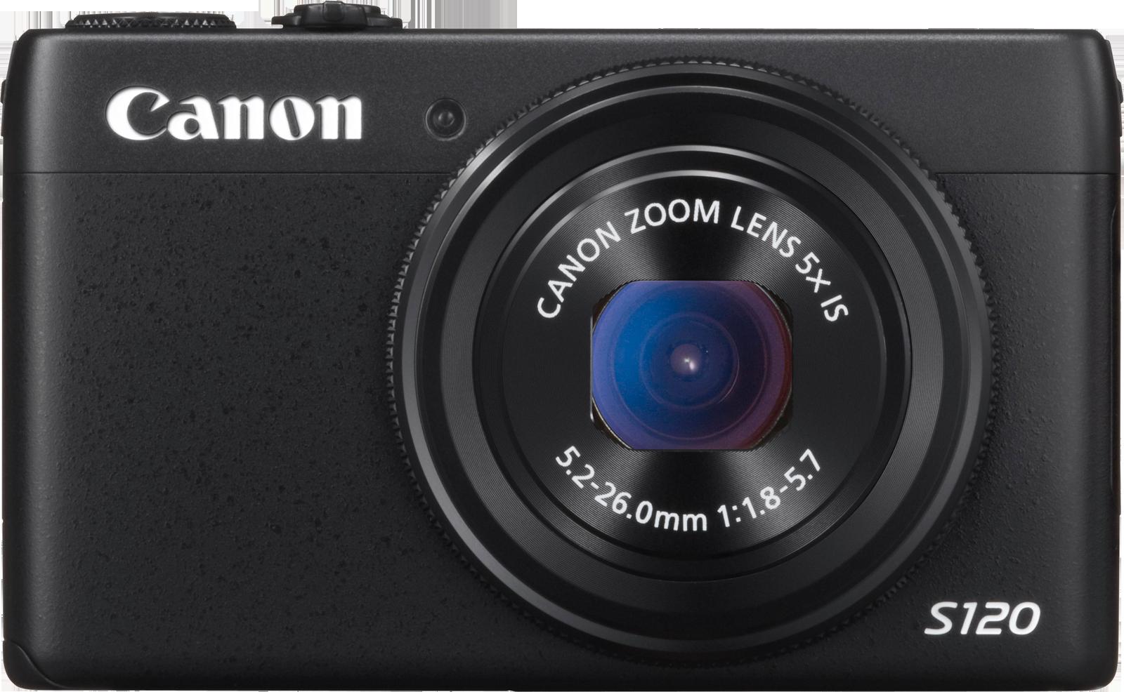 Velkjent front på Canon S120.Foto: Canon