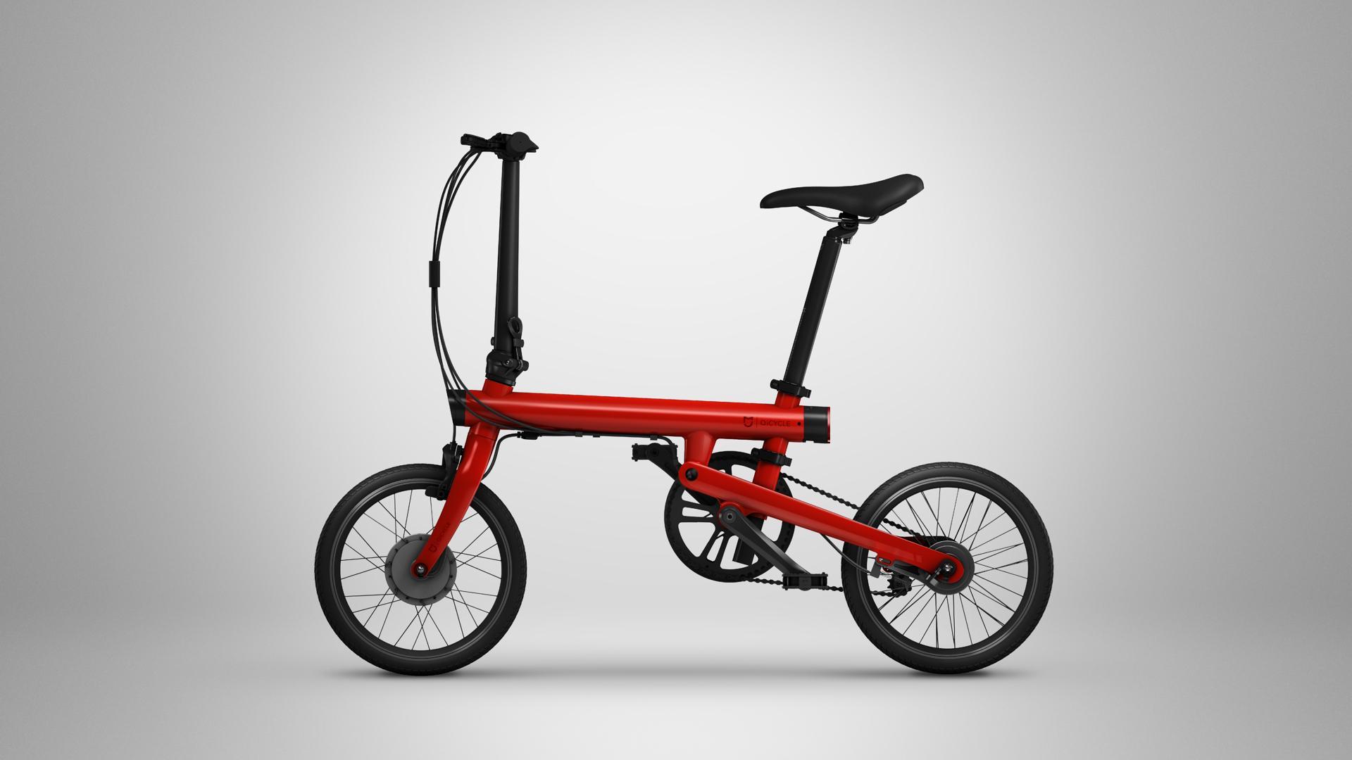 Xiaomi slipper billig, elektrisk sykkel du kan folde sammen