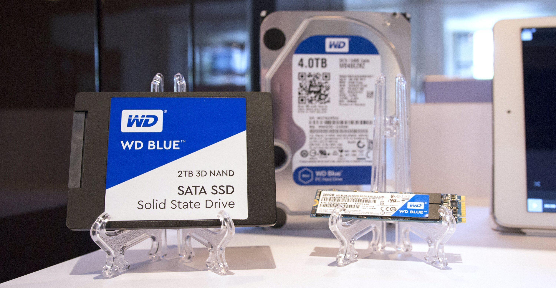 WD Blue blir en stadig større familie av disker.