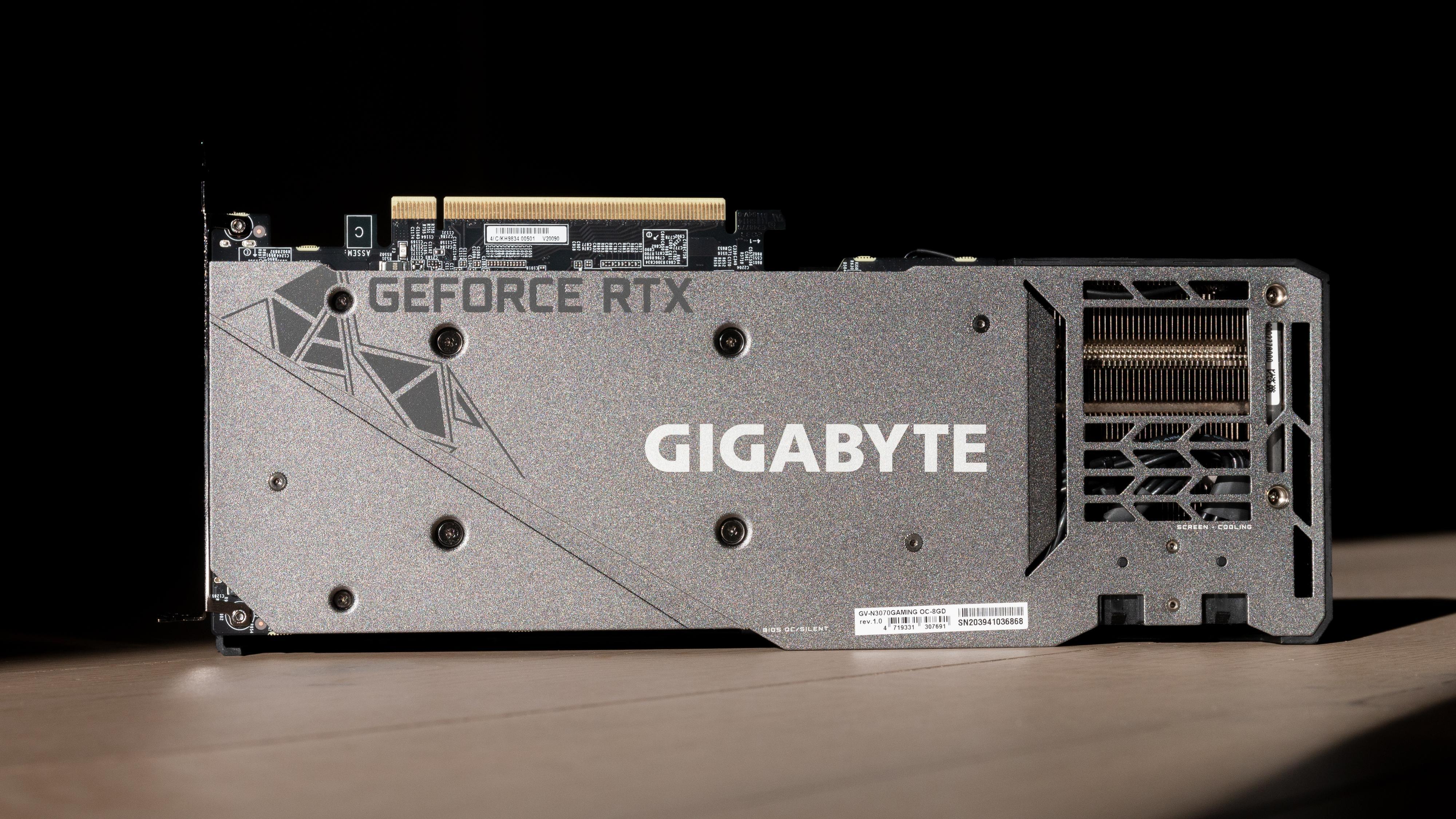 Gigabytes RTX 3070 Gaming OC.