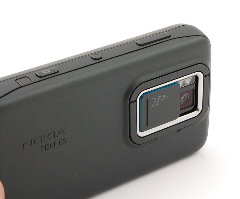 Kamera med LED-blits.