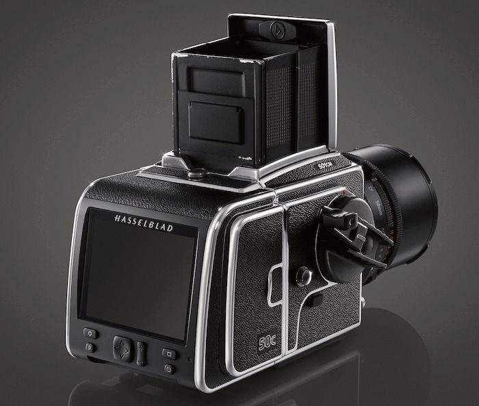 Slik ser kameraet ut i sin helhet.Foto: Hasselblad