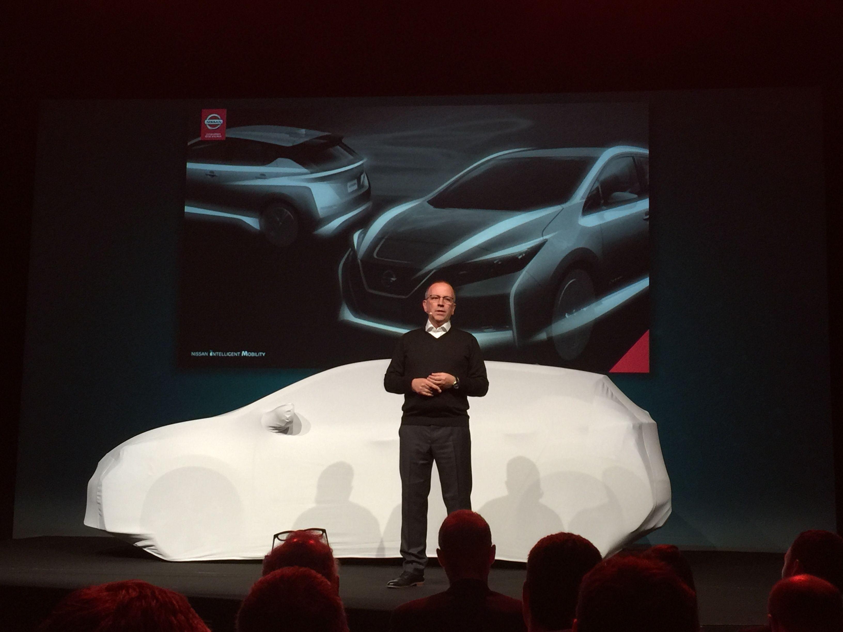 - Vi er foran på elbiler, sier Nissans styreformann i Europa, Paul Willcox.