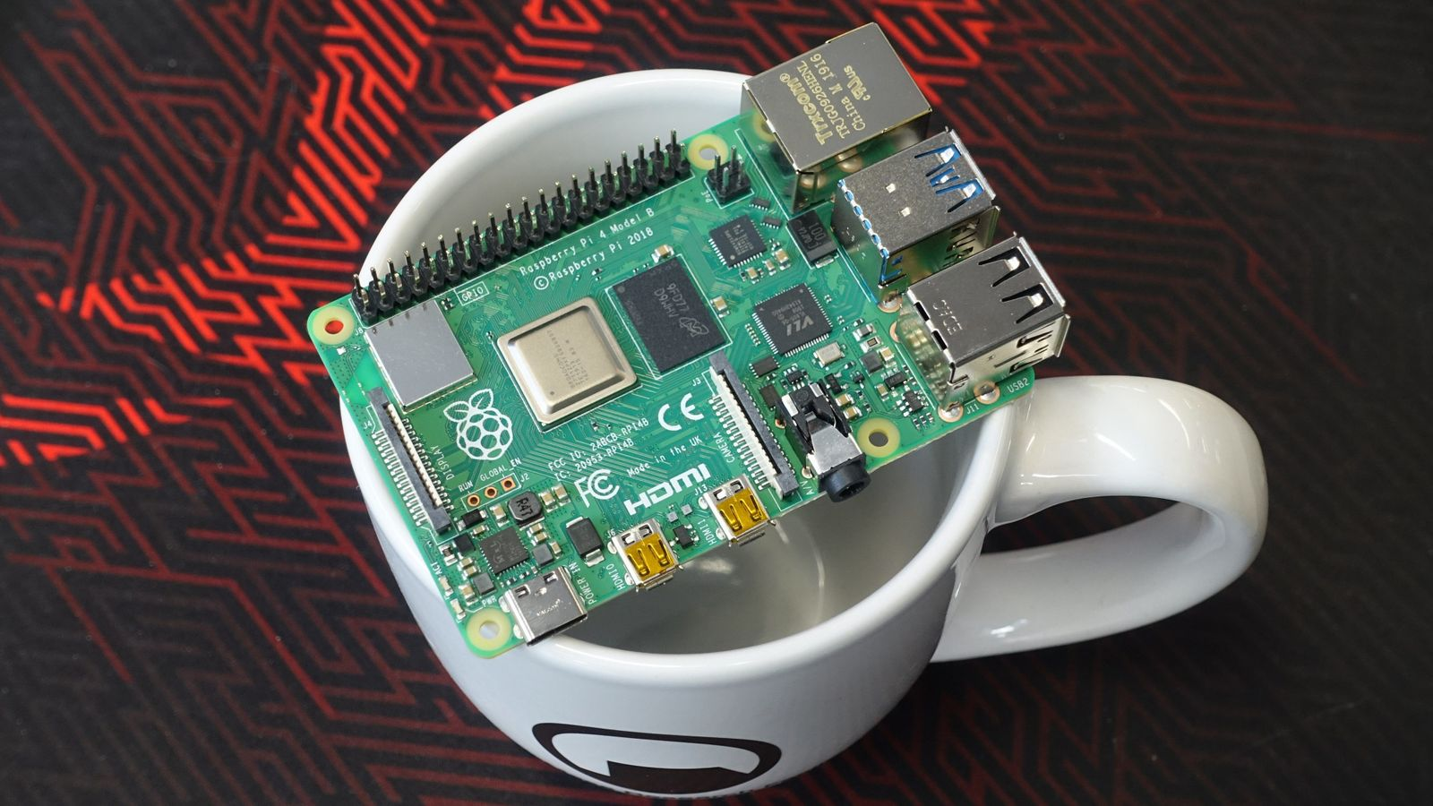 Raspberry Pi 4 Model B 4GB | På lager | Billig