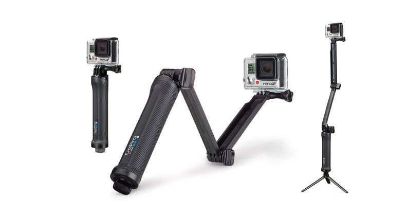 3-Way Mount.Foto: GoPro