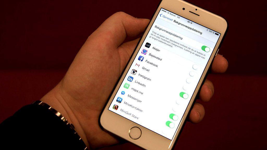 iPhone-trikset som virkelig sparer batteriet