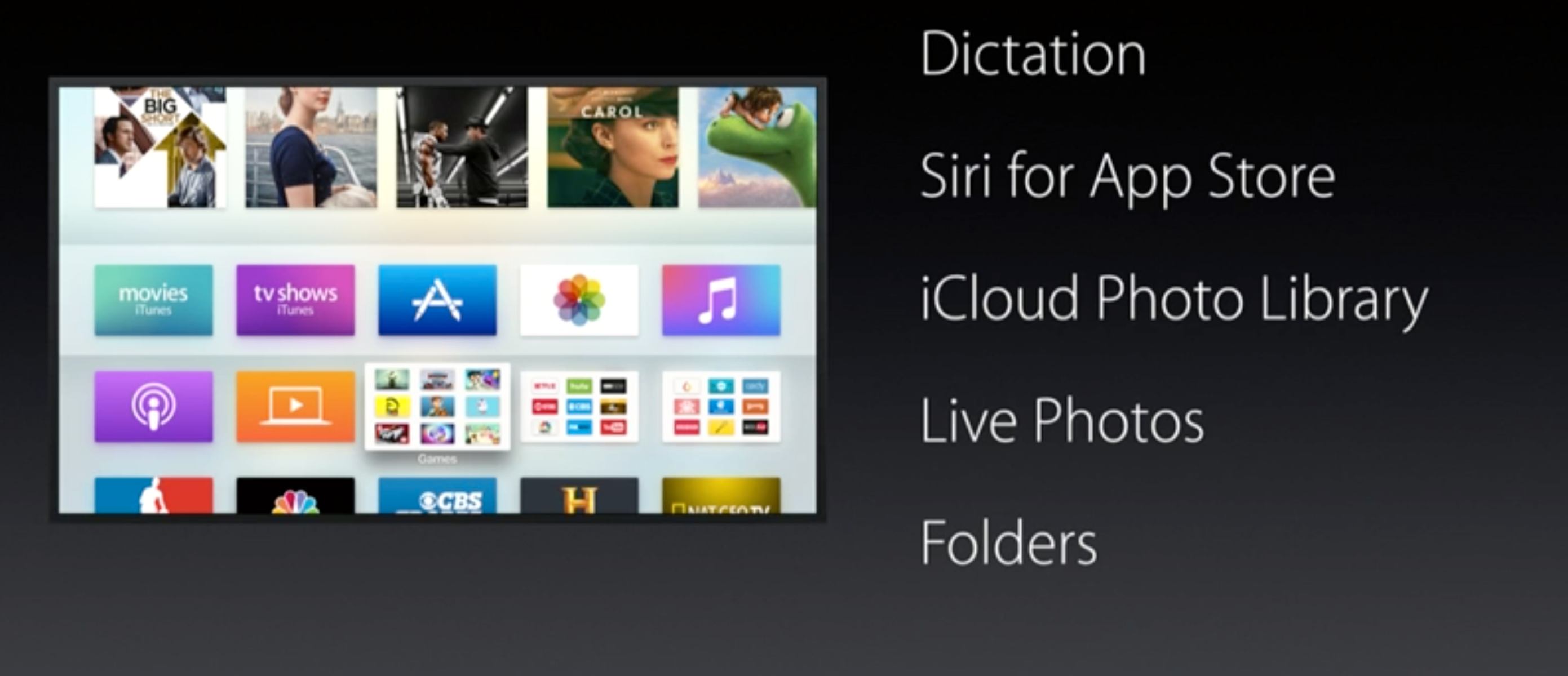 Apple TV blir oppdatert i dag med disse nye funksjonene.
