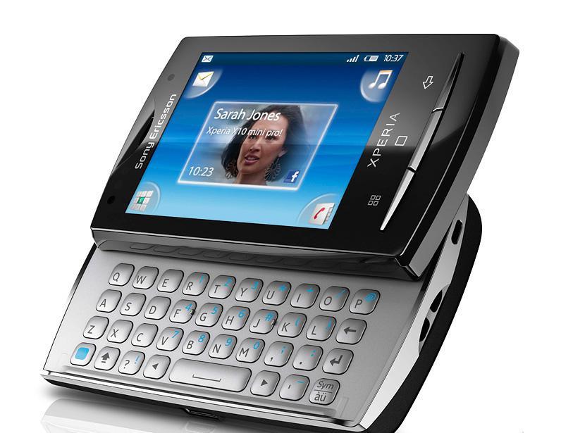 Sony Ericsson Xperia X10 mini Pro er beviset på at det er mulig å lage relativt brukervennlige Android-mobiler med svært liten skjermplass.