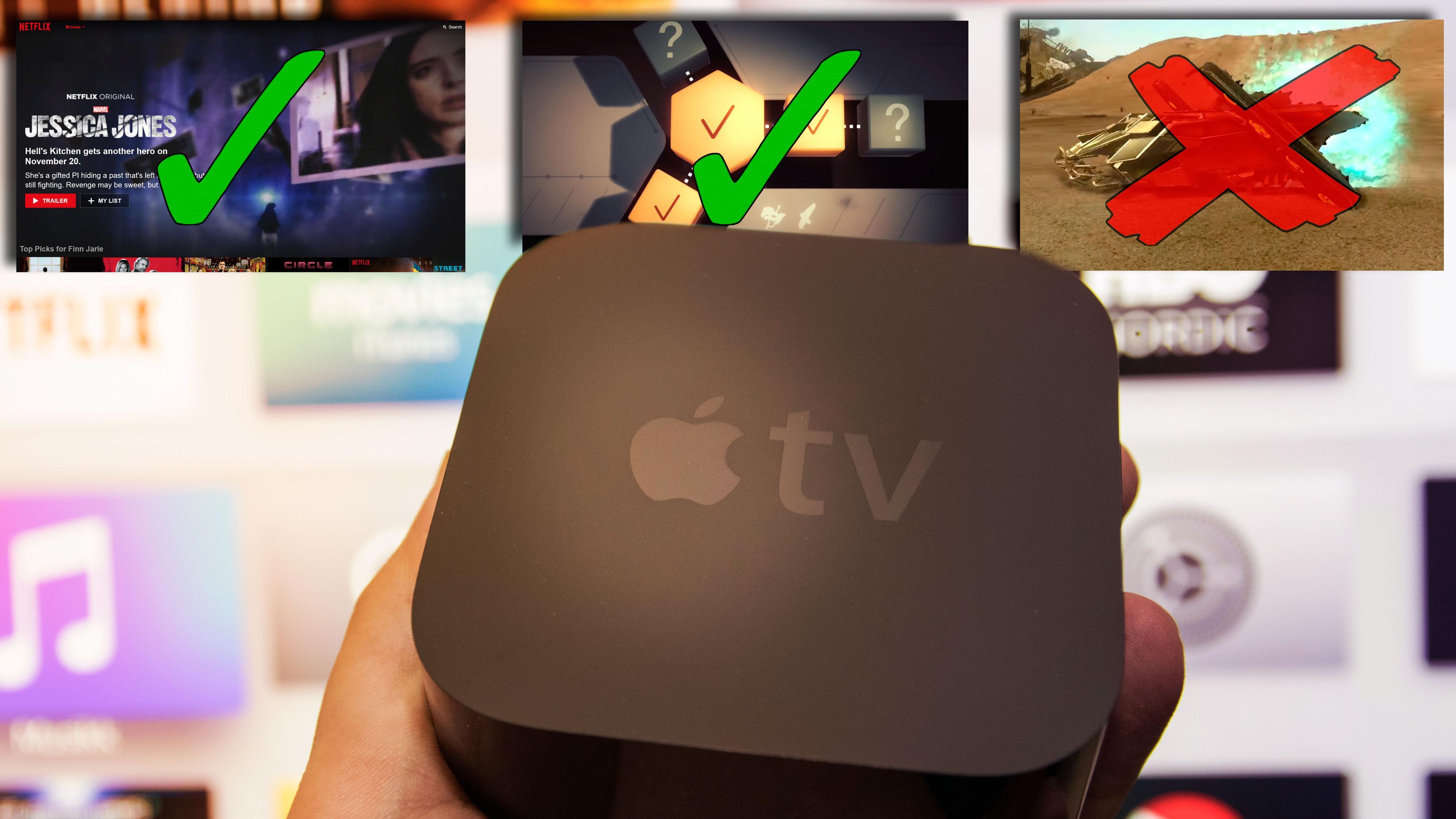 Beste Apple TV-apper