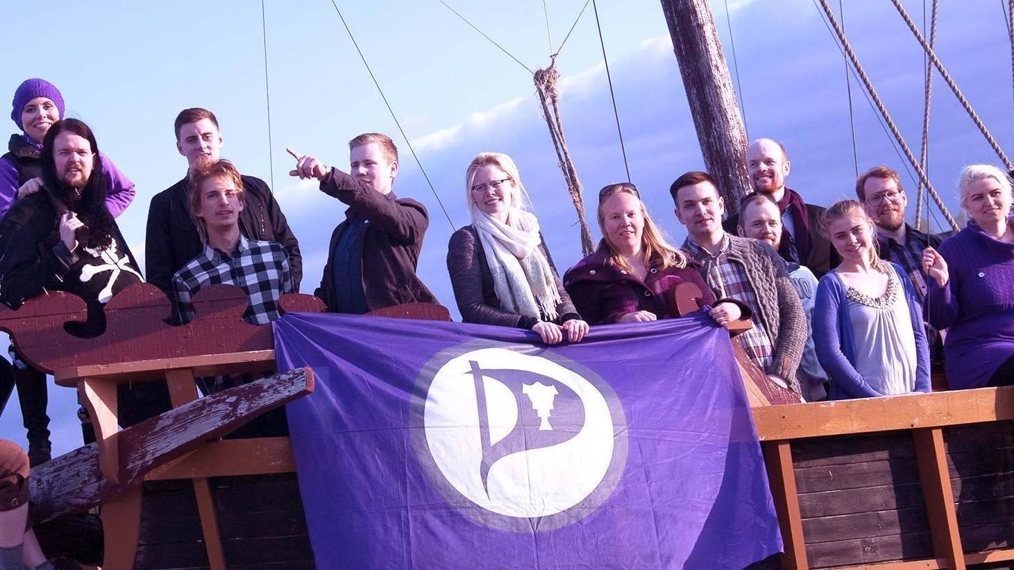 Piratpartiet er nå det tredje største partiet på Island