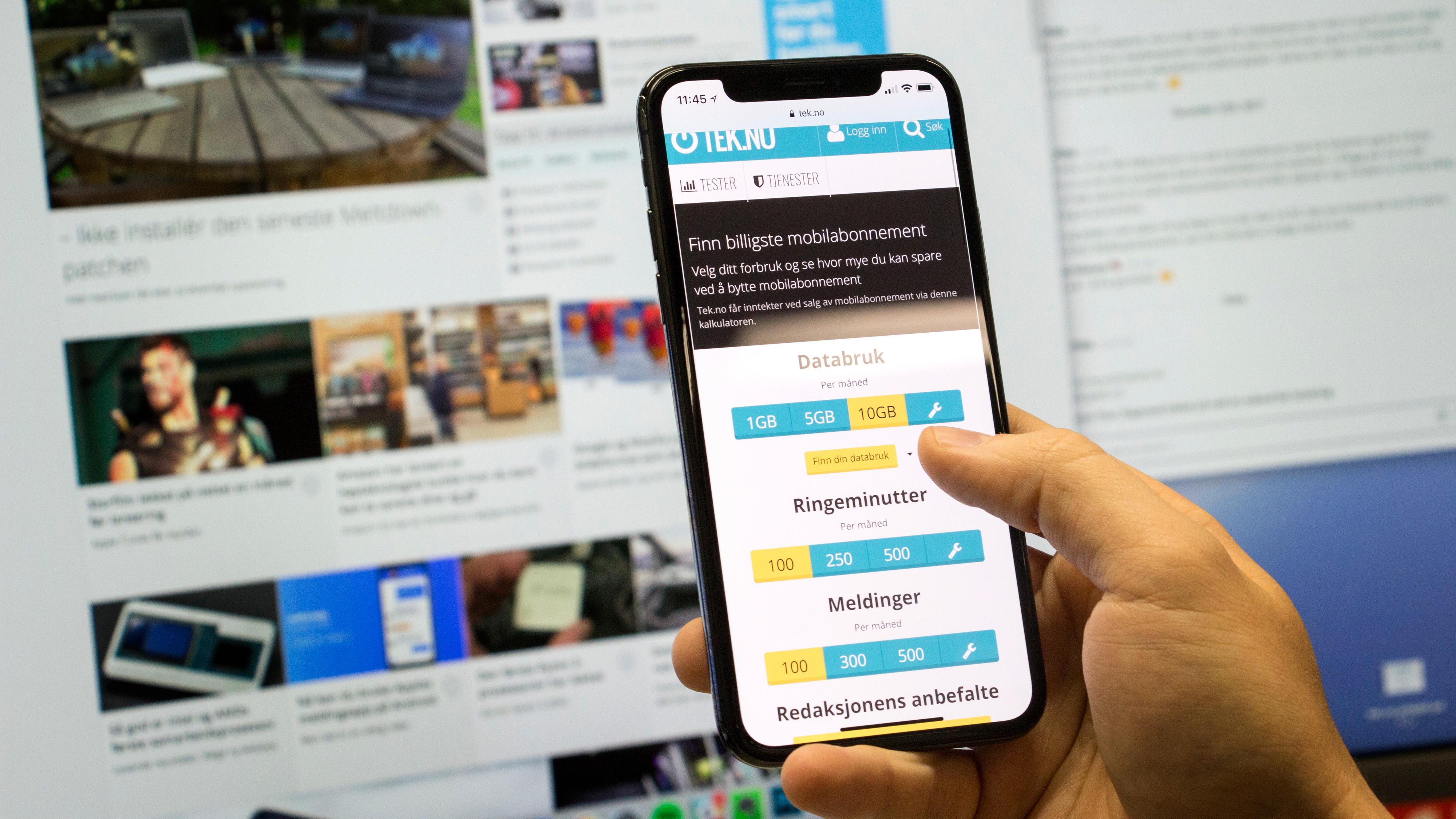 Beste mobilabonnement - april 2018