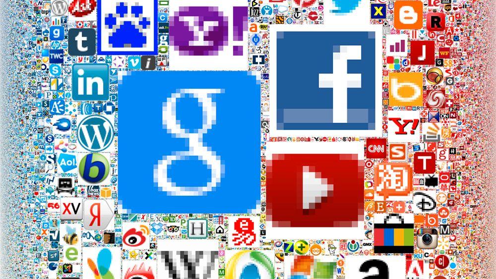 En annerledes oversikt over verdens største nettsider