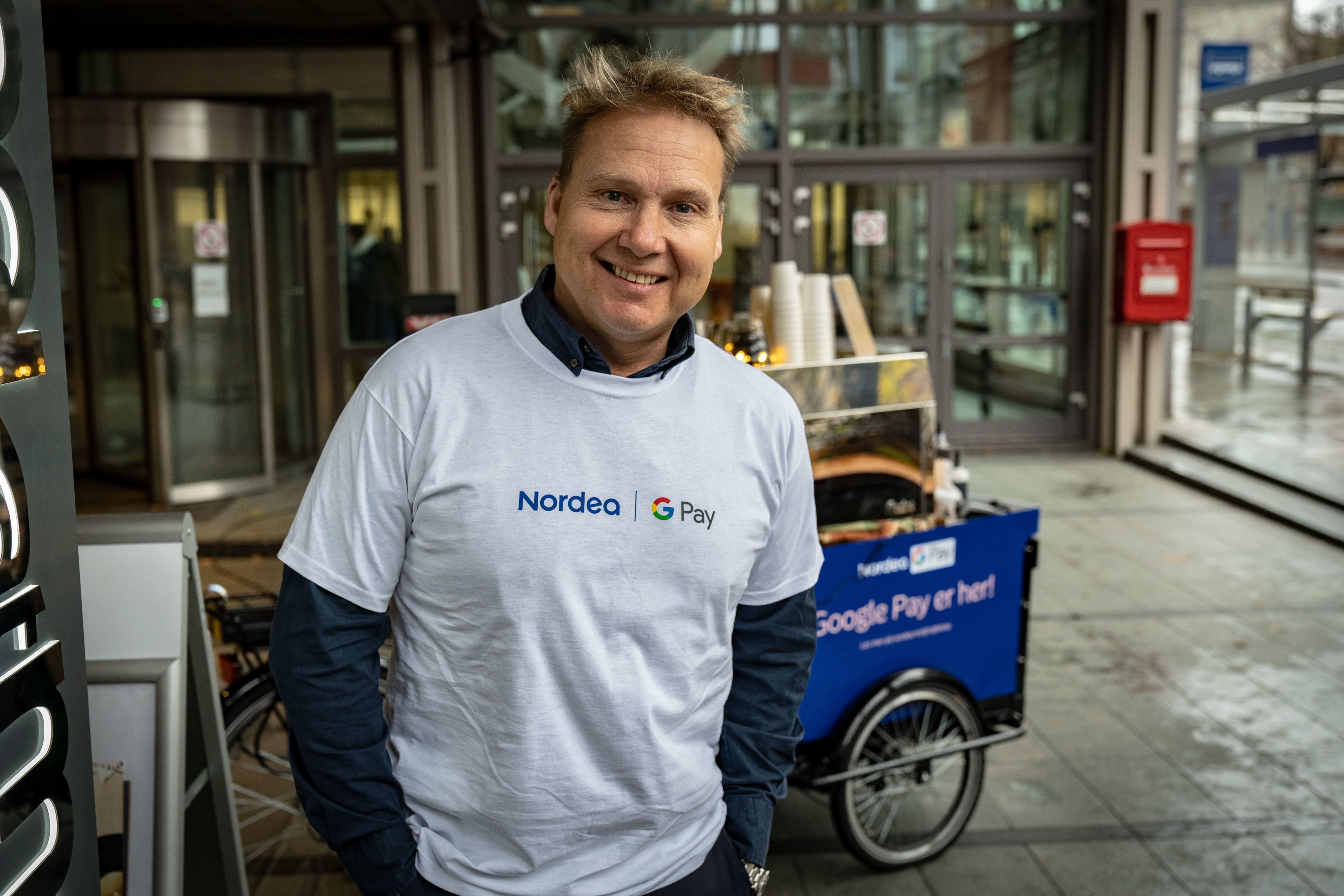 John Sætre, leder for personmarkedet i Nordea Norge.