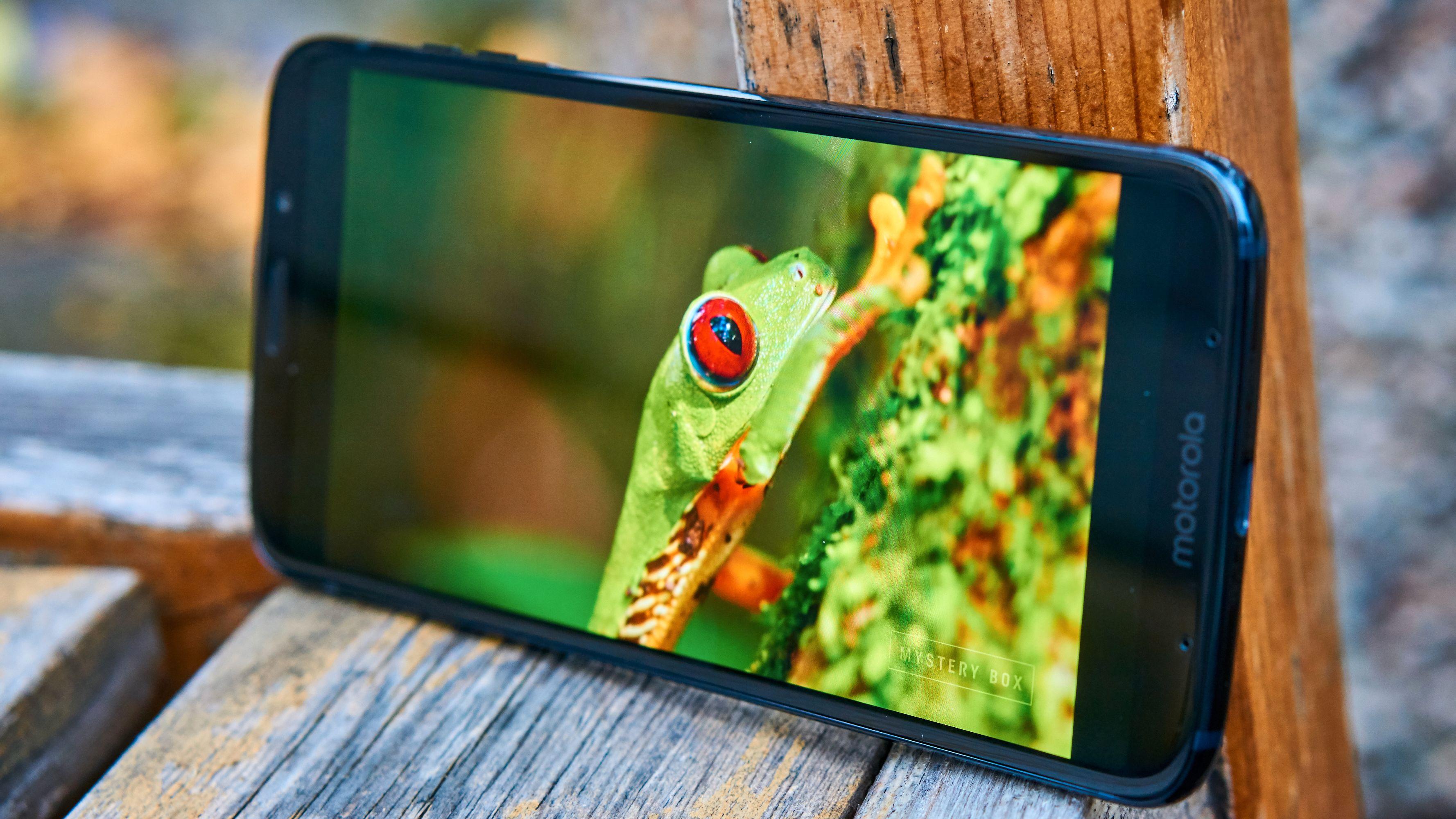 AMOLED-skjermen er ett av høydepunktene ved Z3 Play.