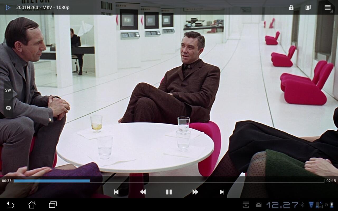 Transformer Prime trekker enkelt video i full HD. Dette er såkalt h.264 i MKV-konteiner.