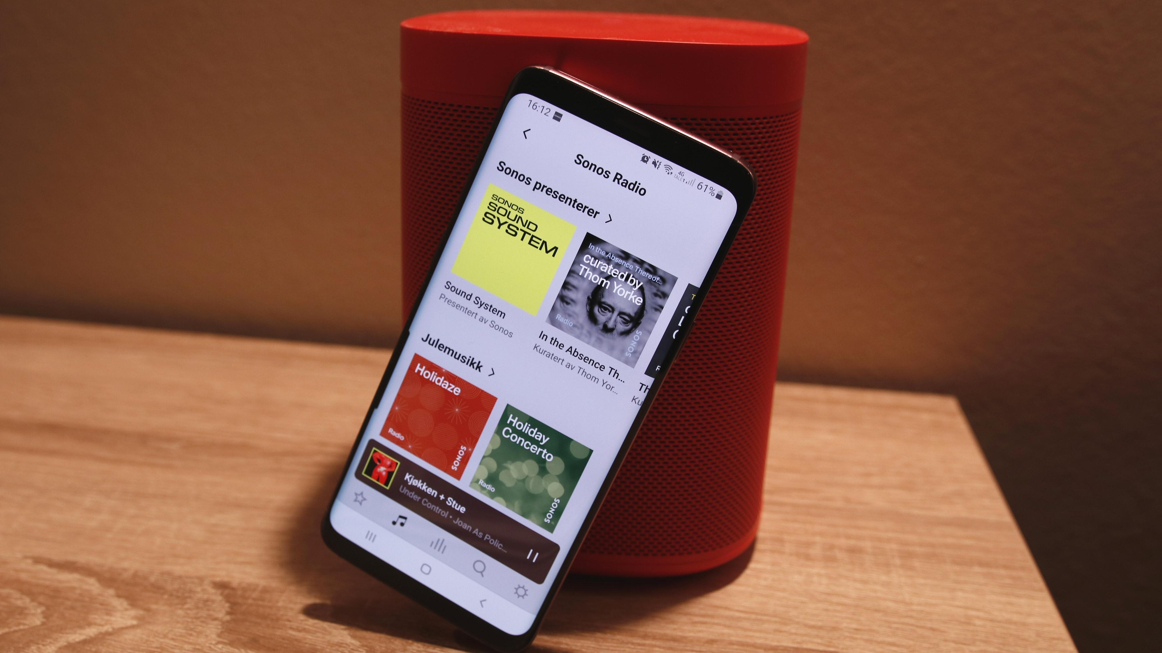 Sonos satser hardt på radiotjenester