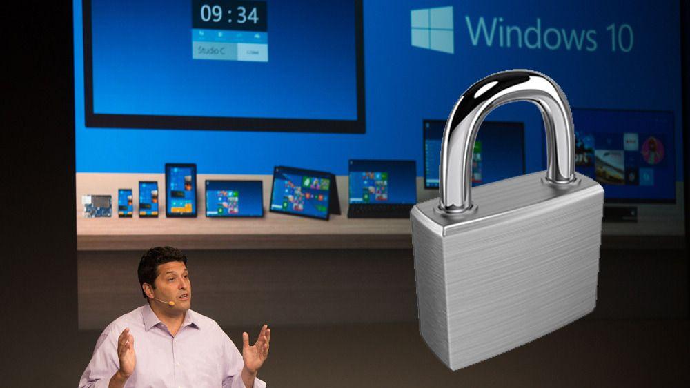 Windows 10 kan fjerne to store sikkerhetsproblemer