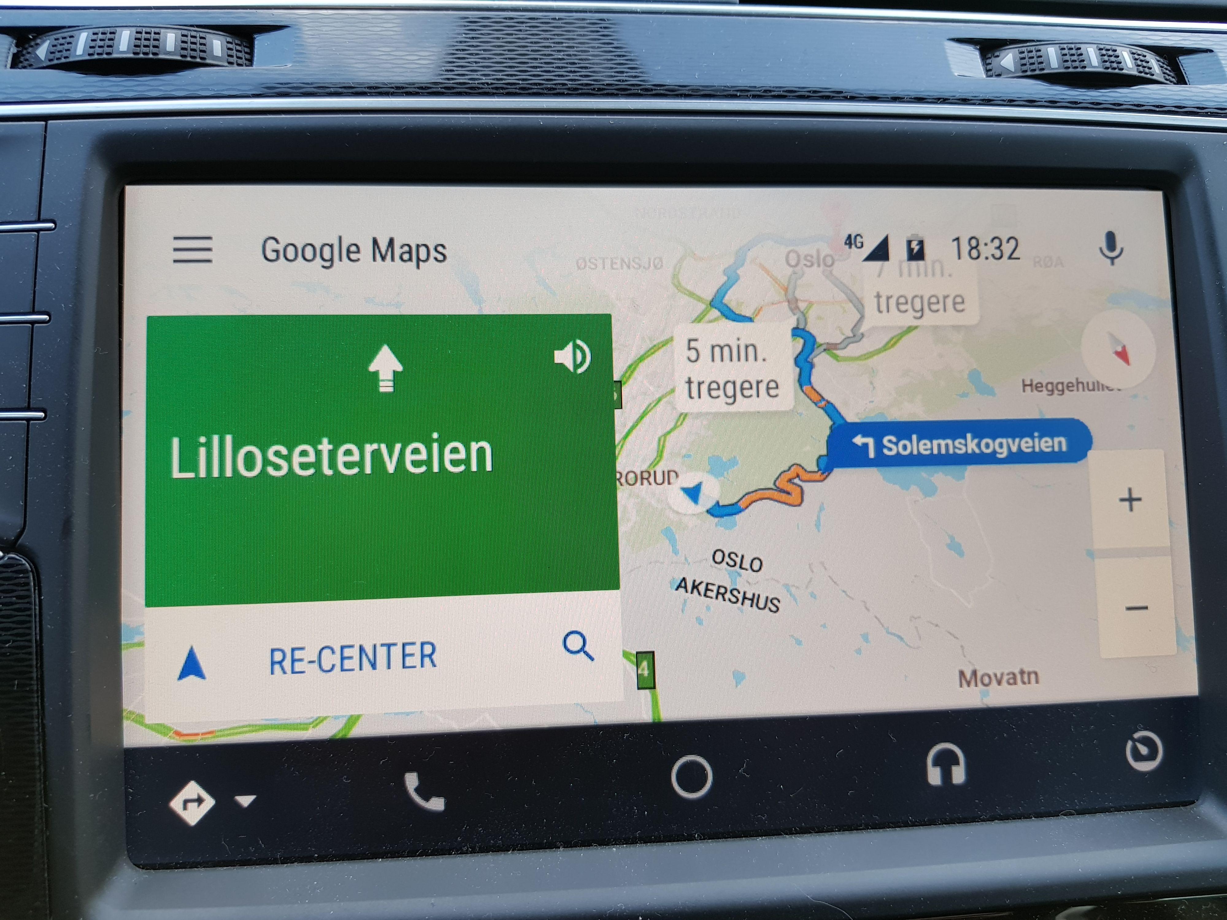 Er veiene under ombygging eller svært komplekse? Da er Google Maps helt overlegent å kjøre etter. Apple Maps er også gode, men faller litt bak på både veivisingen og en sjelden gang på kartkvaliteten. Bilde: Finn Jarle Kvalheim, Tek.no