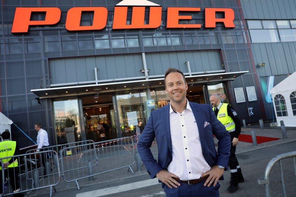 Anders Nilsen, administrerende direktør i Power.