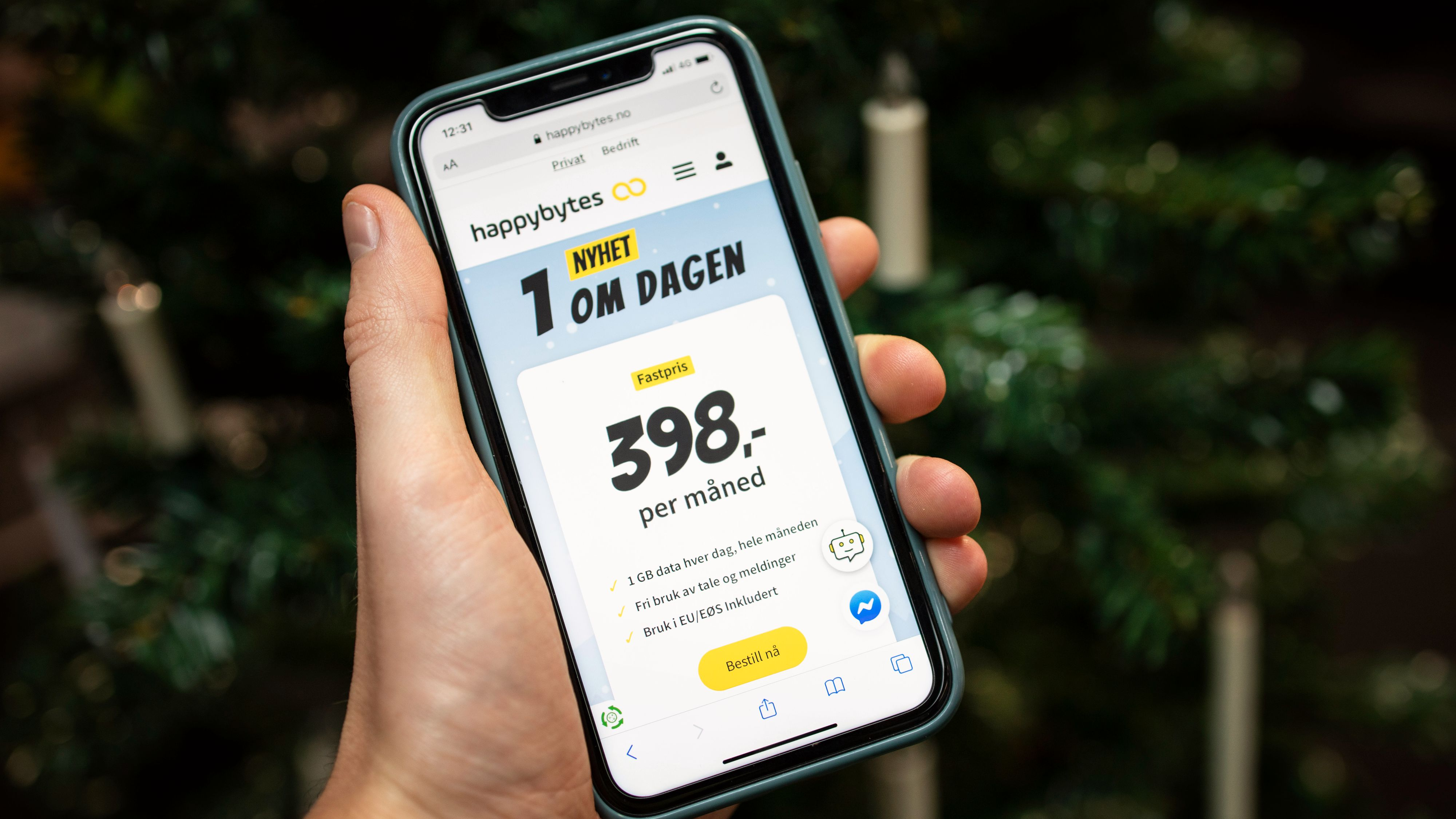 Happybytes prøver ny abonnementsmodell: Tilbyr 1 GB til 13 kroner dagen