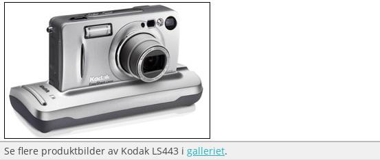 Test av Kodak Easyshare LS443