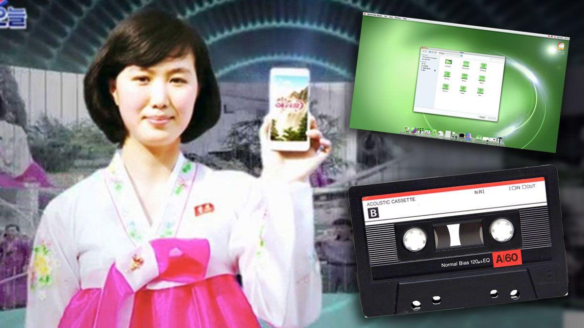 I Nord-Korea lytter de til kassetter og etterligner Apples MacOS