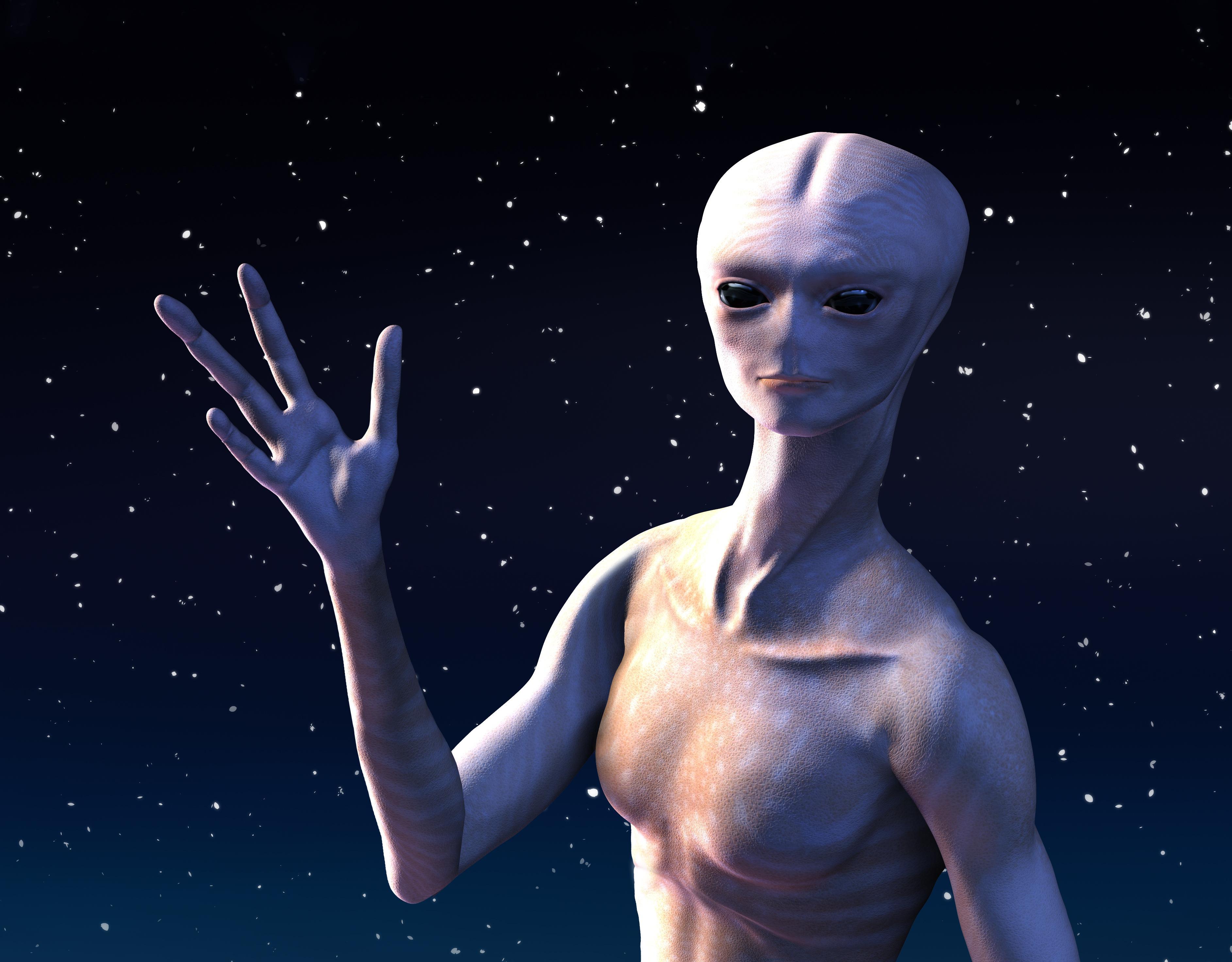 Du kommer nok ikke til å hilse på denne karen med det første, men om SETI er heldige kan det være de kan plukke opp radiosignaler fra utenomjordisk liv.Foto: Shutterstock