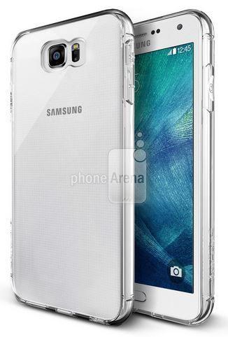 Dette bildet viser en «Galaxy S6» som ser litt annerledes ut enn på bildene som ble lagt ut på Weibo. Foto: Bilde fra PhoneArena