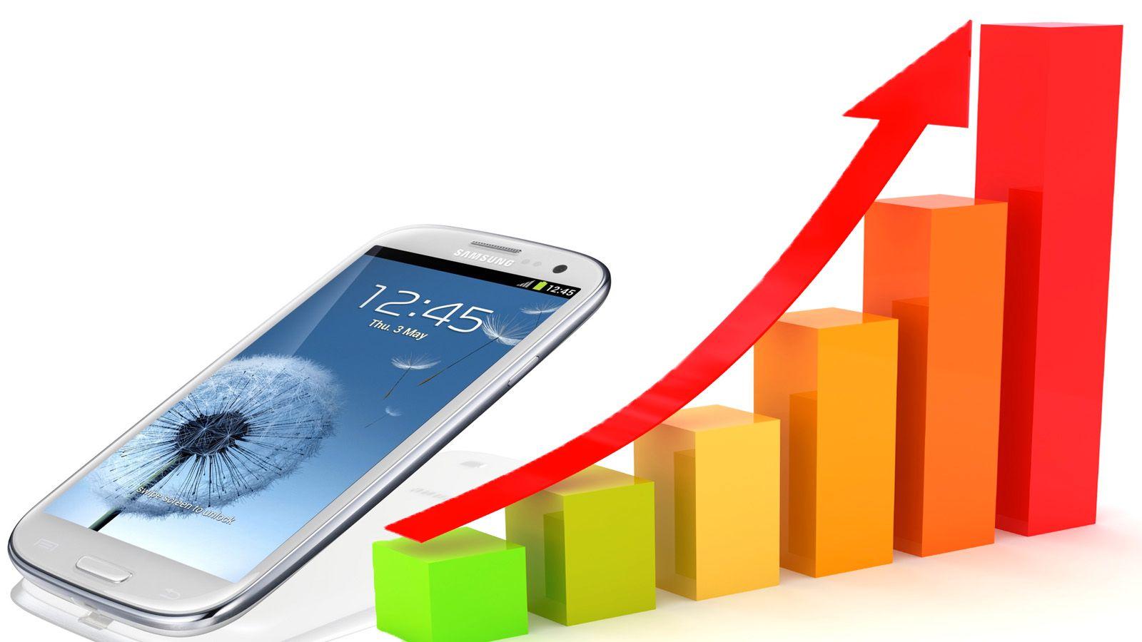 Kraftig vekst i Android-salget