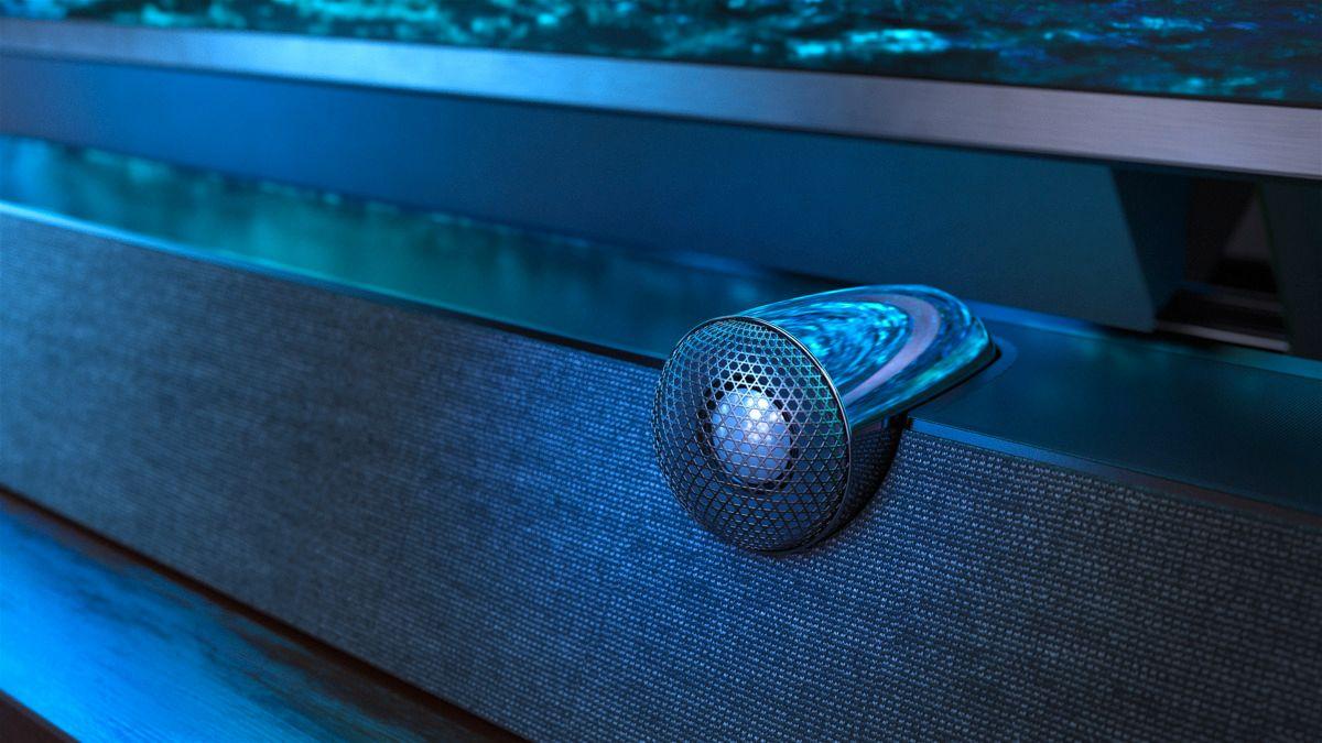 B&W står bak lyden til den nye toppmodellen med MiniLED.