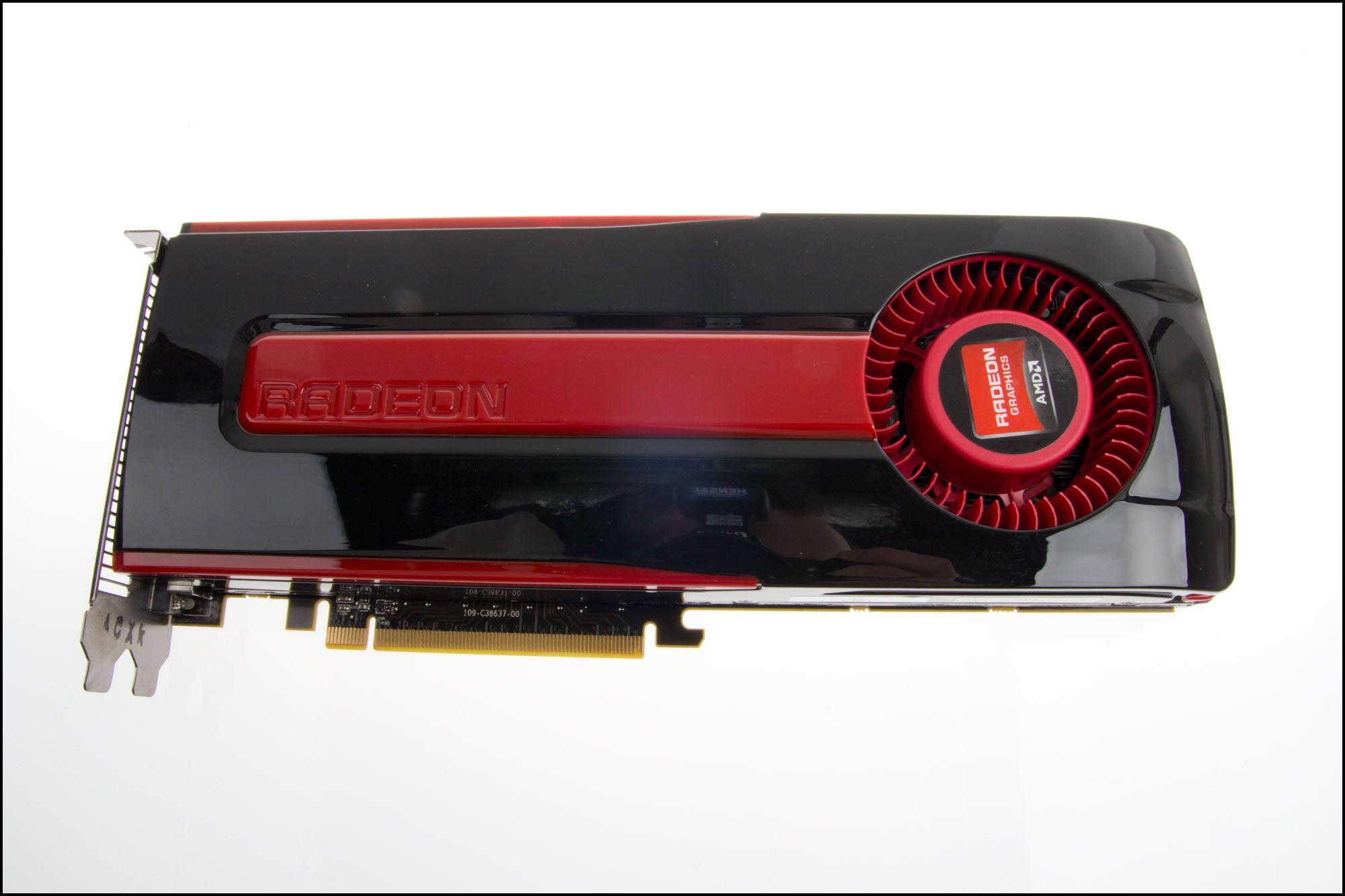 Referanseversjonen av Radeon HD 7950..