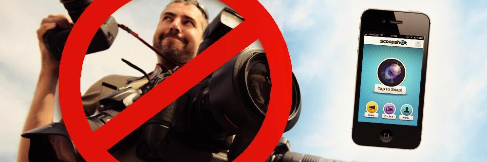Bli fotojournalist med Scoopshot