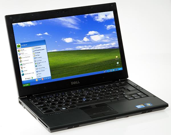 Windows XP på testmaskinen vår.Foto: Anders Brattensborg Smedsrud, Hardware.no