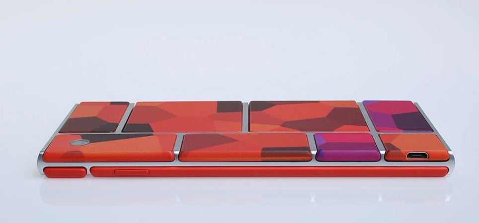 Slik kan en ferdig telefon basert på Ara-prosjektet se ut, ifølge Motorola.Foto: Motorola