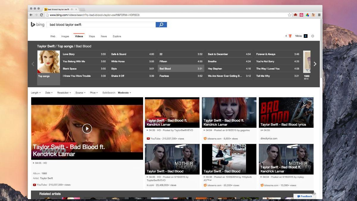 Er Bings nye videosøk virkelig bedre enn YouTube?