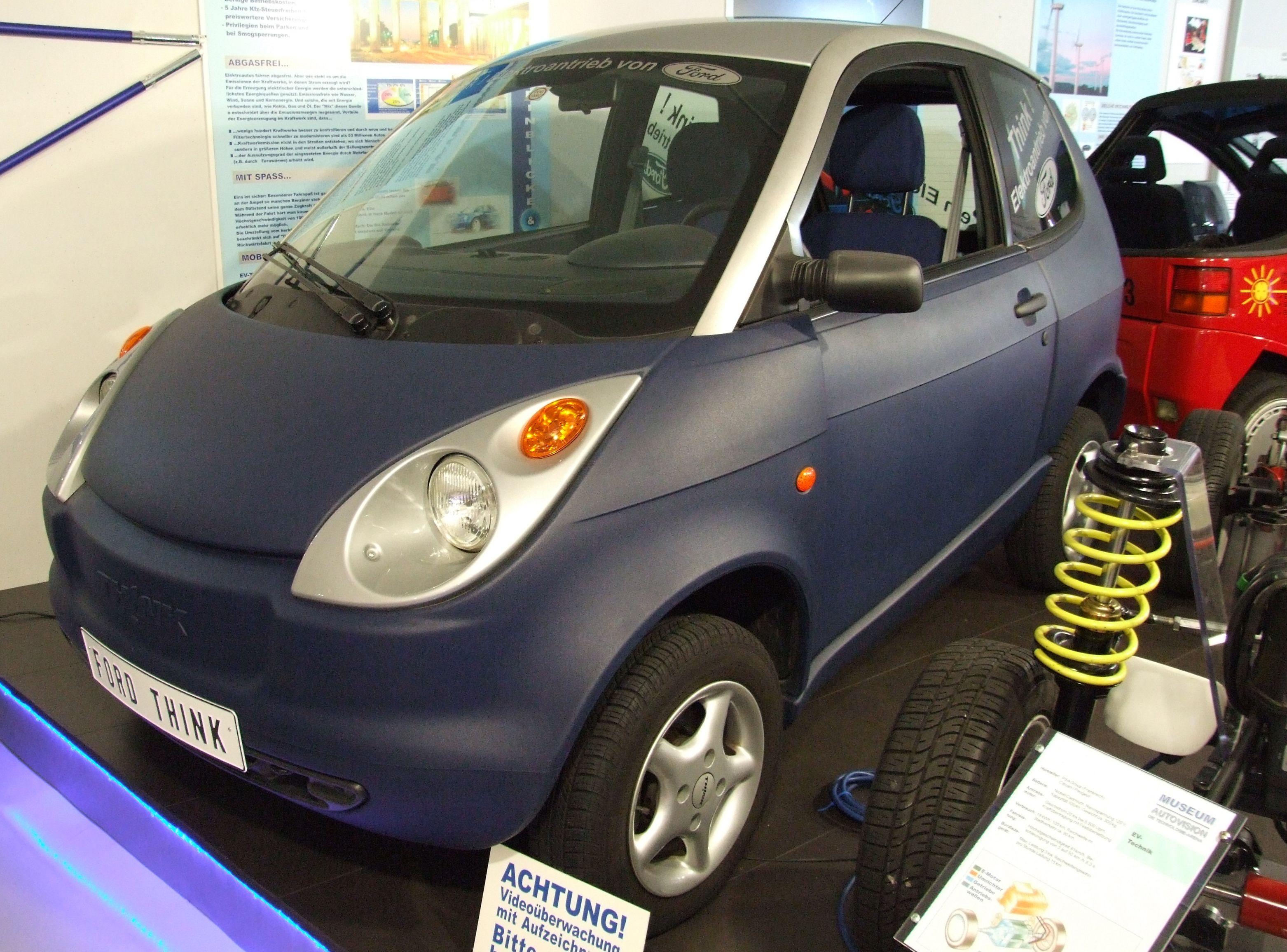 Rawlinson jobbet med forgjengeren til Think, den gang selskapet het Pivco og før Ford overtok.