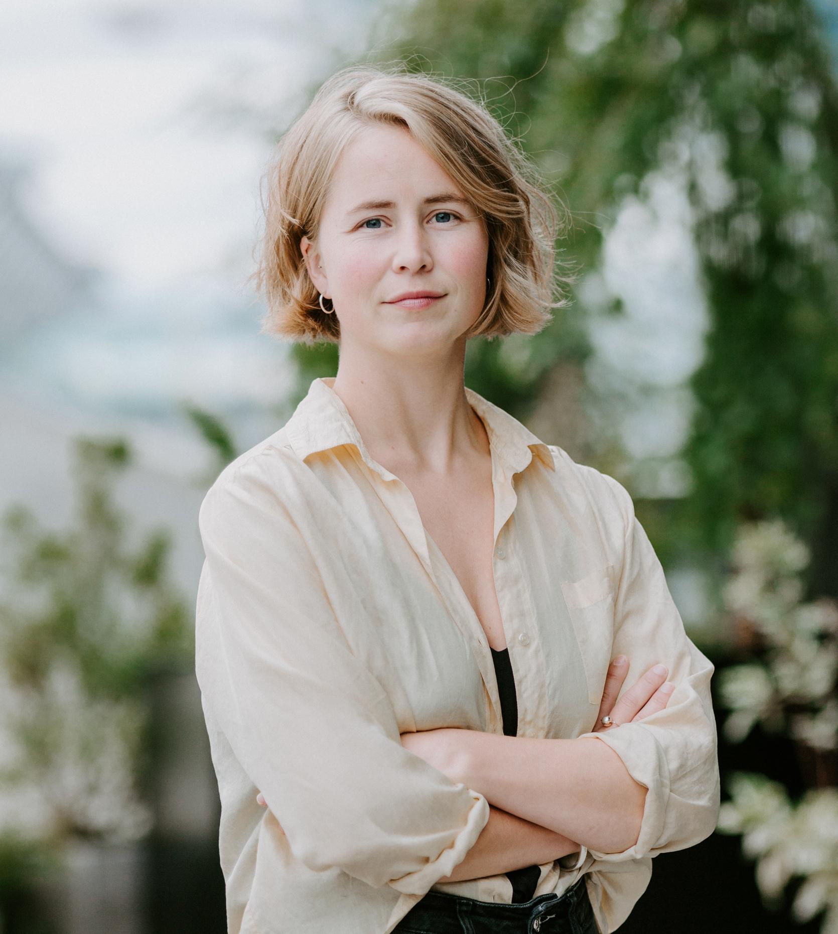Anja Bakken Riise i Framtiden i våre hender.