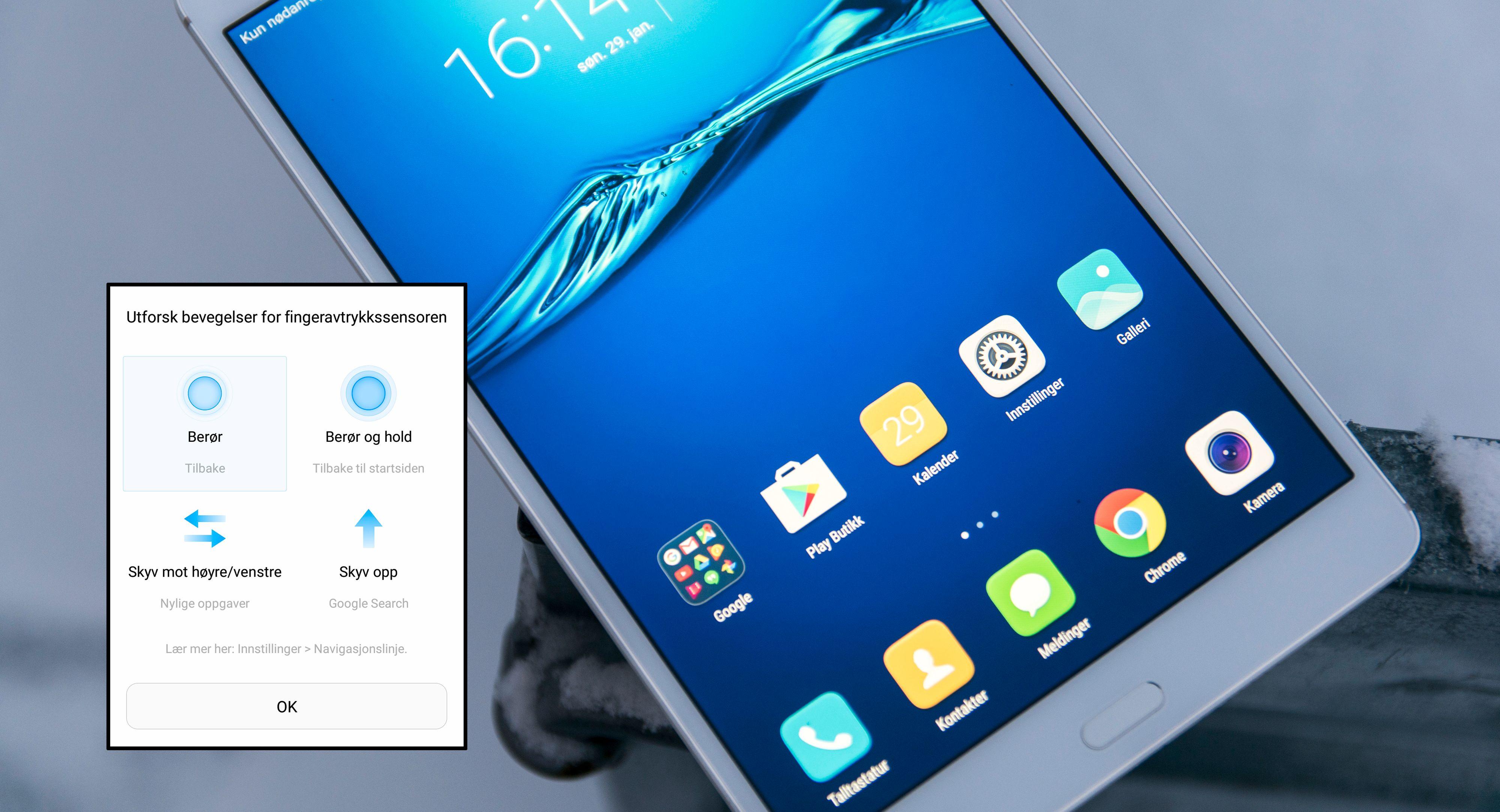 Huawei MediaPad M3 Lite vs iPad 9,7 Test Tek.no