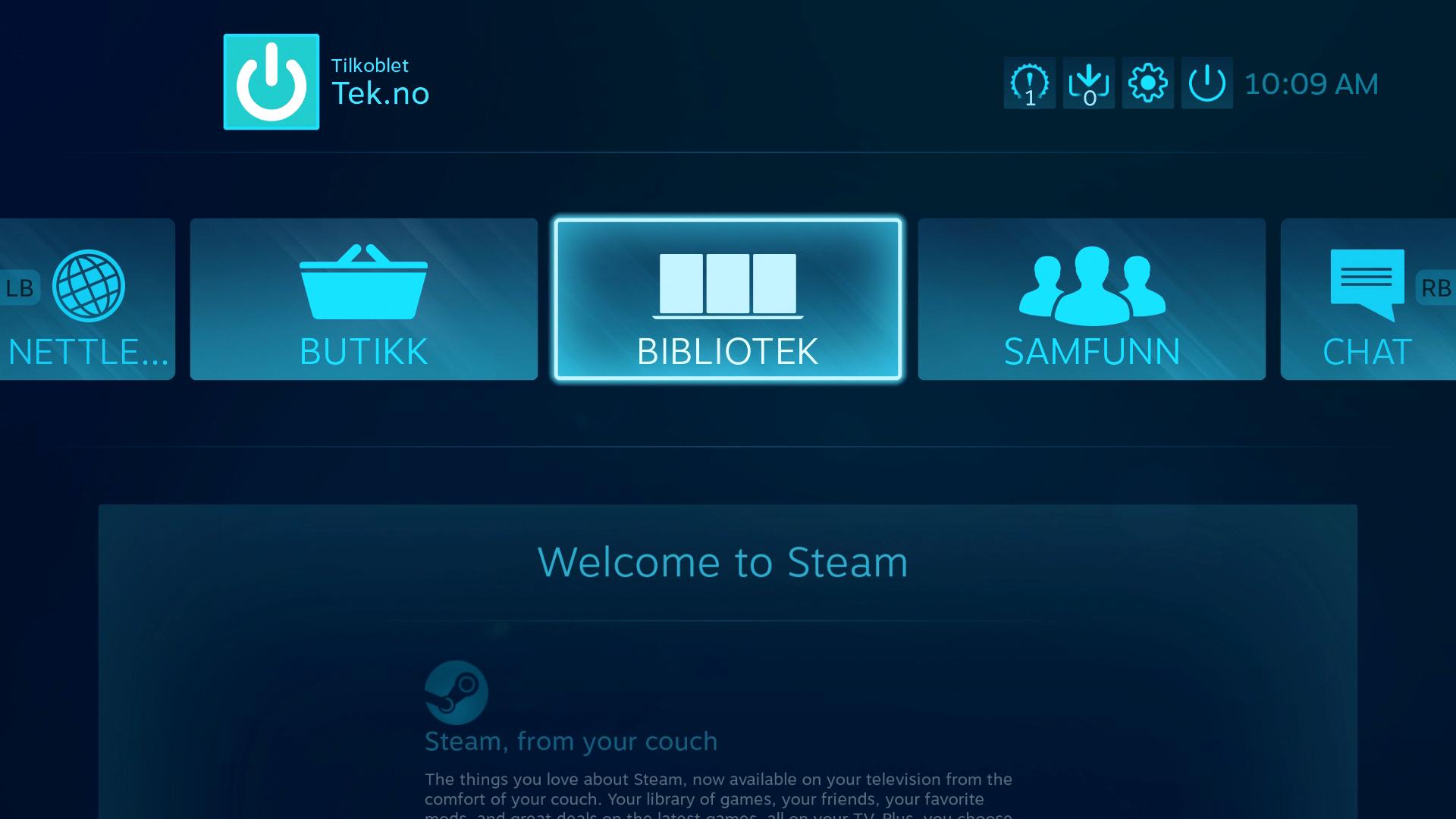 SteamOS fungerer da egentlig ganske bra, men kan egentlig kun én ting.