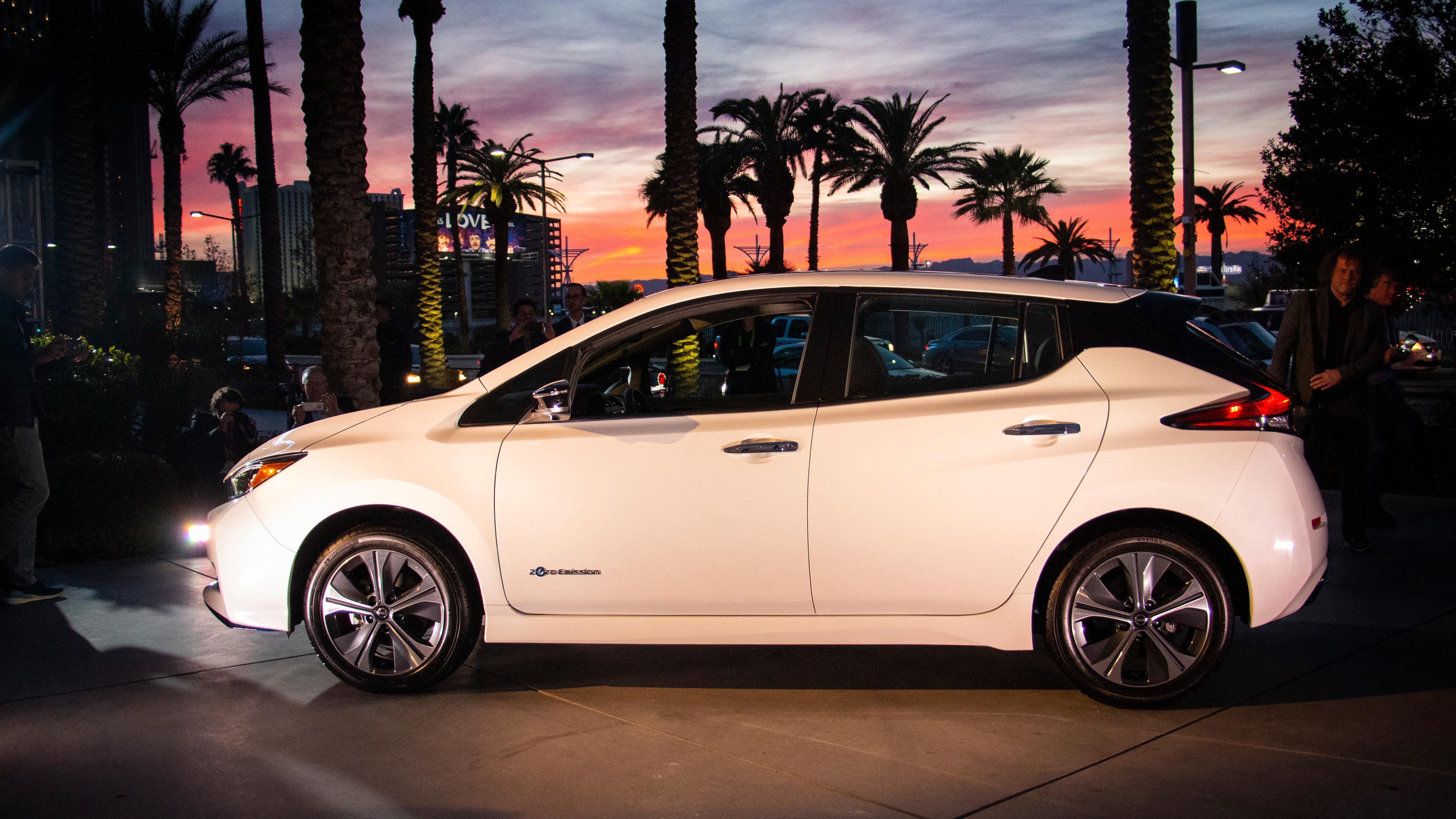 Her er nye Nissan Leaf med større batteri