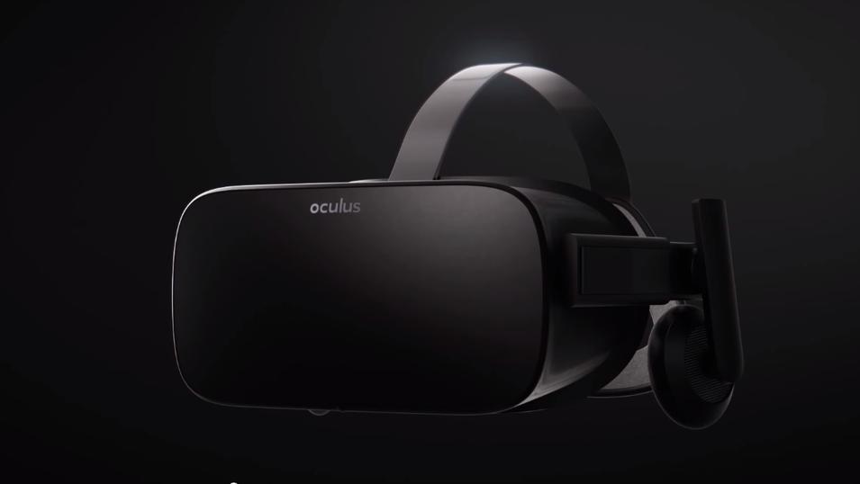 VR-brillene Oculus Rift kom nettopp ut i en forbrukerversjon for vanlig salg. Foto: OculusVR/YouTube