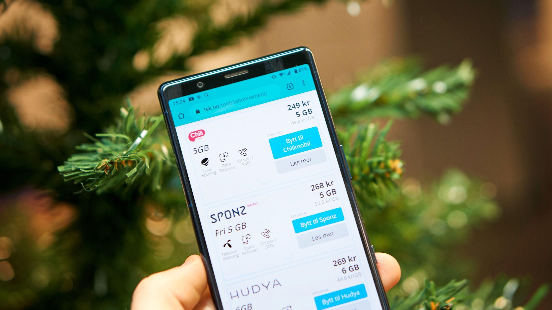 Ny mobil til jul? Dette er de beste mobilabonnementene nå