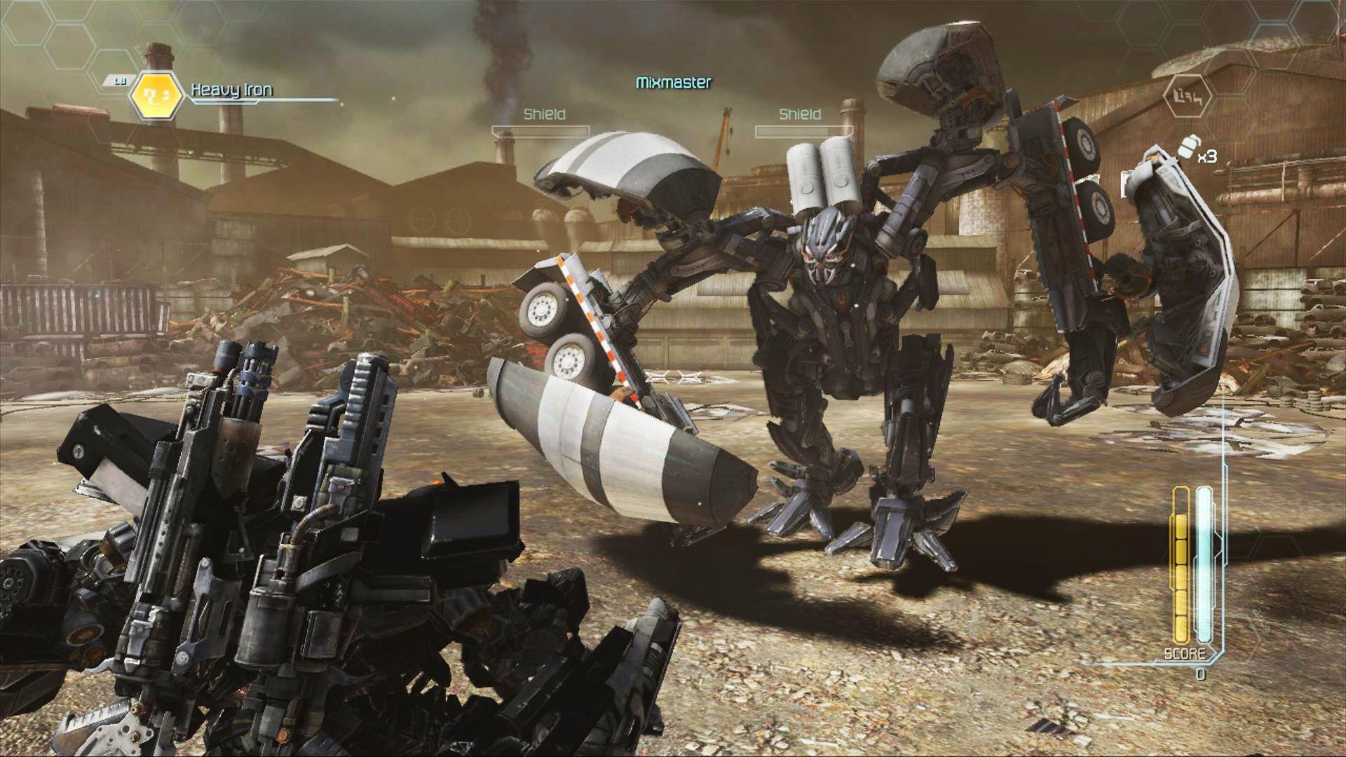 Autobot vs. Decepticon. Slik det skal være.