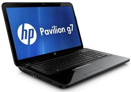 HP Pavilion G7-2128 har 17,3-tommers skjerm og kan spilles litt på.