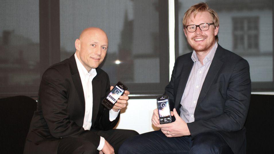 Salgs og Markedsdirektør Thomas Zaubi (til venstre) og Andreas Parr Bjørnsund, Prosjektleder. .Foto: Bartec Pixavi