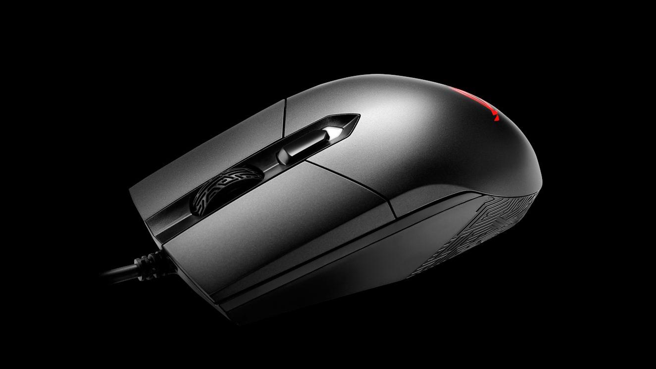 Asus slipper lett og enkel mus for kvikke spill