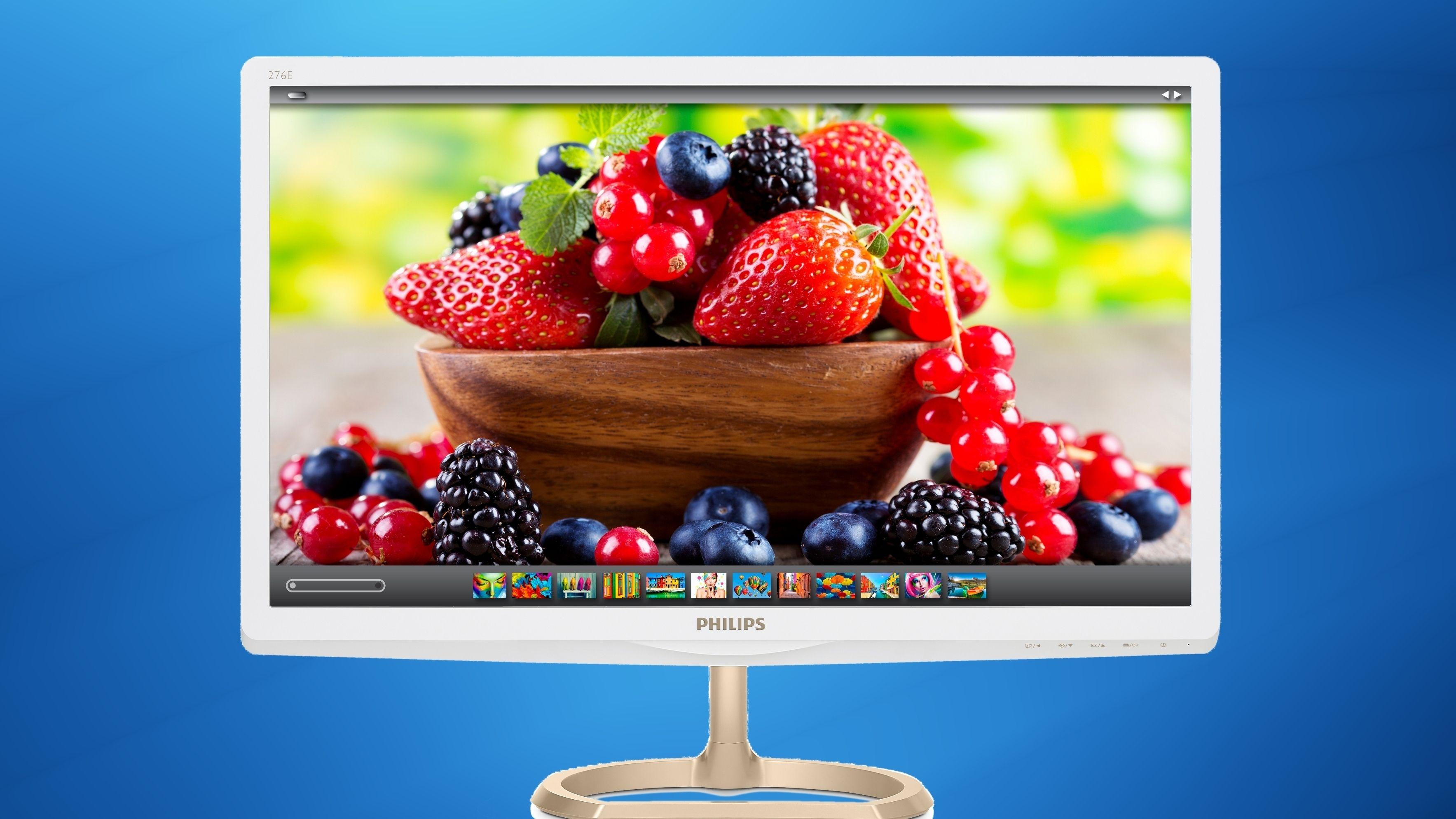 Dette er den første PC-skjermen med den nye «kvanteprikk»-teknologien